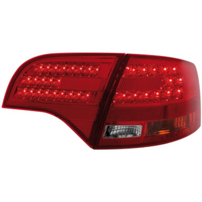 GEN2 LED R ckleuchten rot klar f r Audi A4 S4 RS4 B7 Avant 229 00