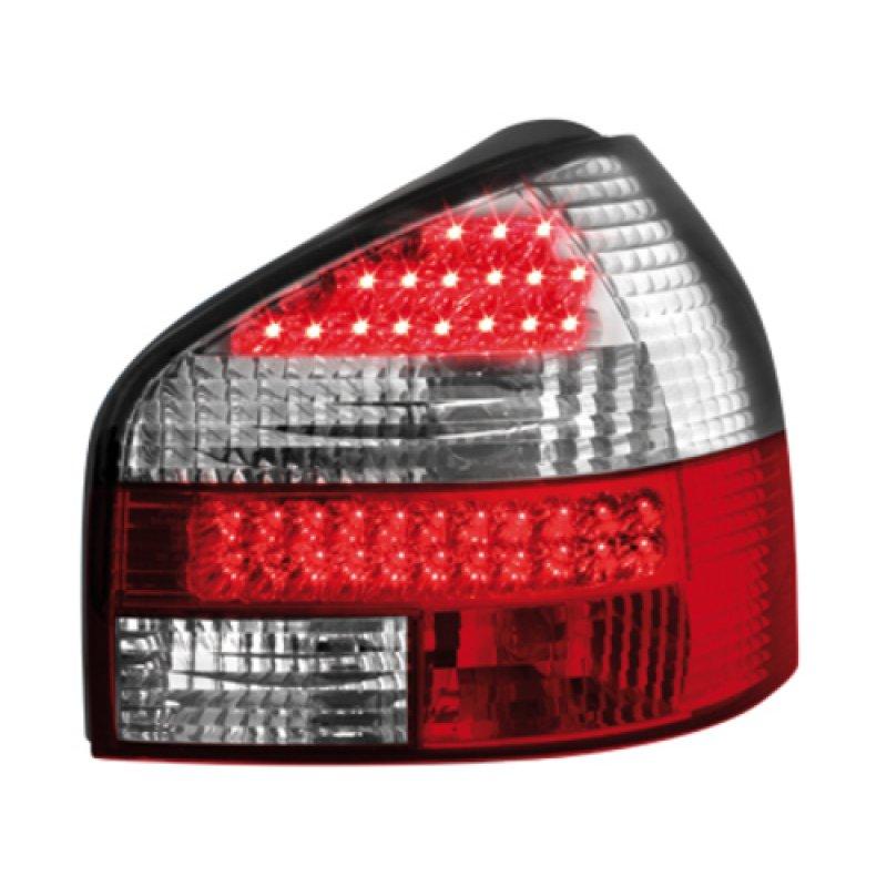 LED Klarglas R ckleuchten rot chrom f r Audi A3 S3 8L 159 00