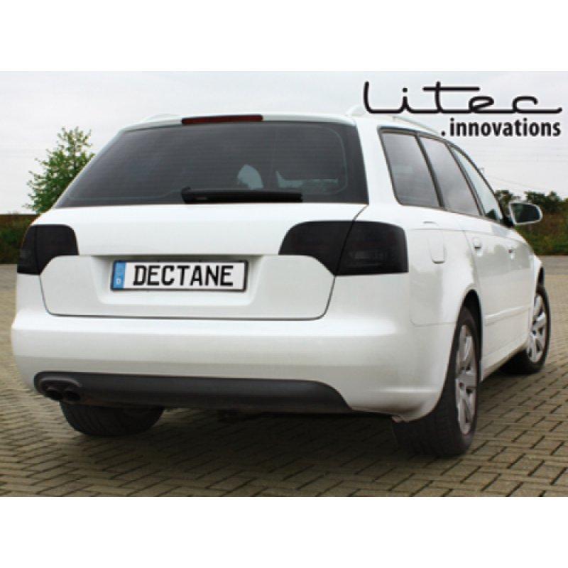 LITEC3 LED Rückleuchten Schwarz-rauch Für Audi A4/S4/RS4