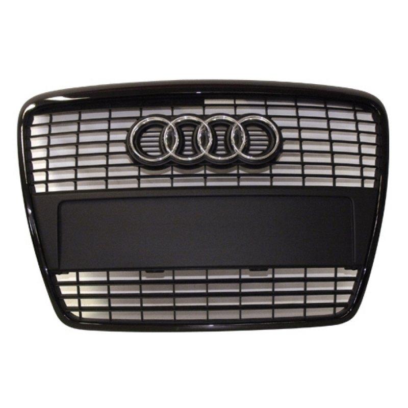 standard singleframe grill audi a6 c6 4f optik paket. Black Bedroom Furniture Sets. Home Design Ideas