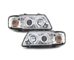 ANGEL EYES2 Scheinwerfer chrom Audi A3 8L