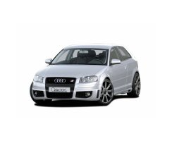 CARACTERE Frontspoiler Audi A3 8P